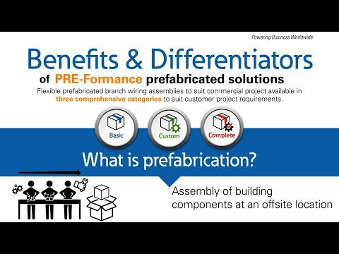 PRE-formance prefabricated solutions benefits & differentiators
