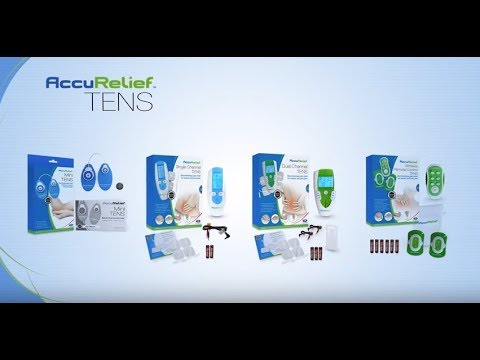AccuRelief TENS Electrotherapy Pain Relief Systems