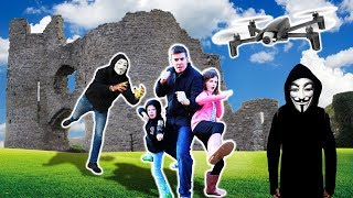 PROJECT ZORGO Castle - Searching for Abandoned Mysterious Clues with Drone!