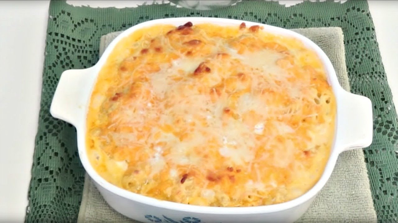 Southern styled baked mac n cheese easy recipe youtube forumfinder Image collections