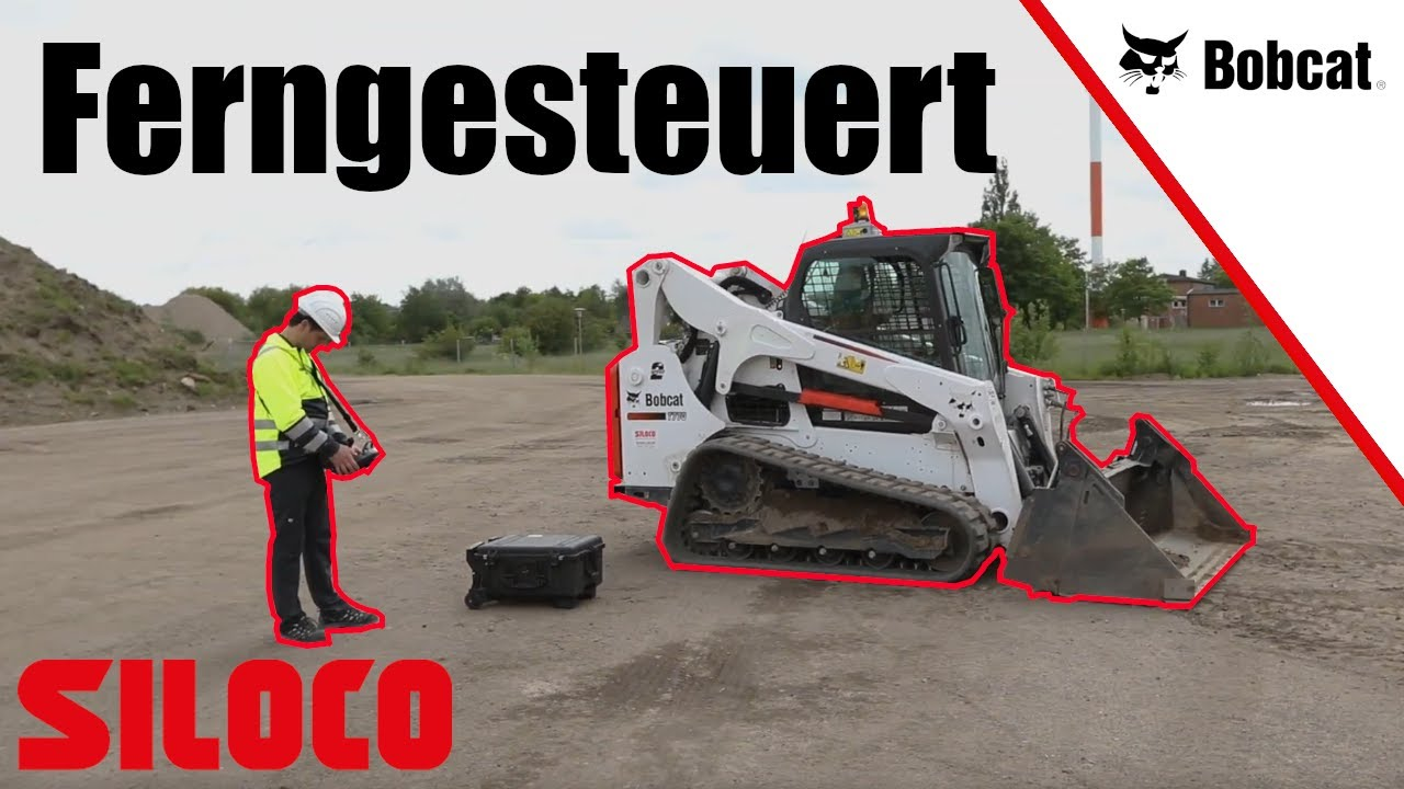 Youtube Video: Siloco - Fernsteuerung für BOBCAT Lader