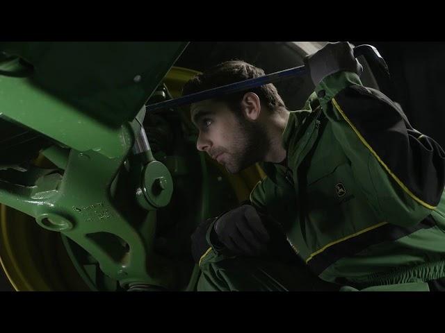 John deere   Expert Tip Tractor - Axle Suspension Inspection