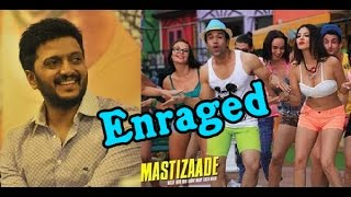 Sexy Actress Sunny Leone's Enraged Riteish Deshmukh   Mastizaade Movie Trailer - entertamil.com