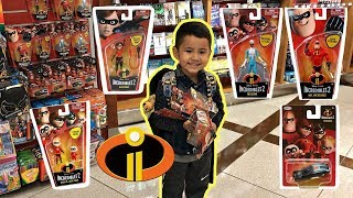 UNBOXING New INCREDIBLES 2 TOYS on Airplane | Family fun trip to Lego Land California