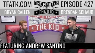 Download lagu The Fighter and The Kid - Episode 427: Andrew Santino