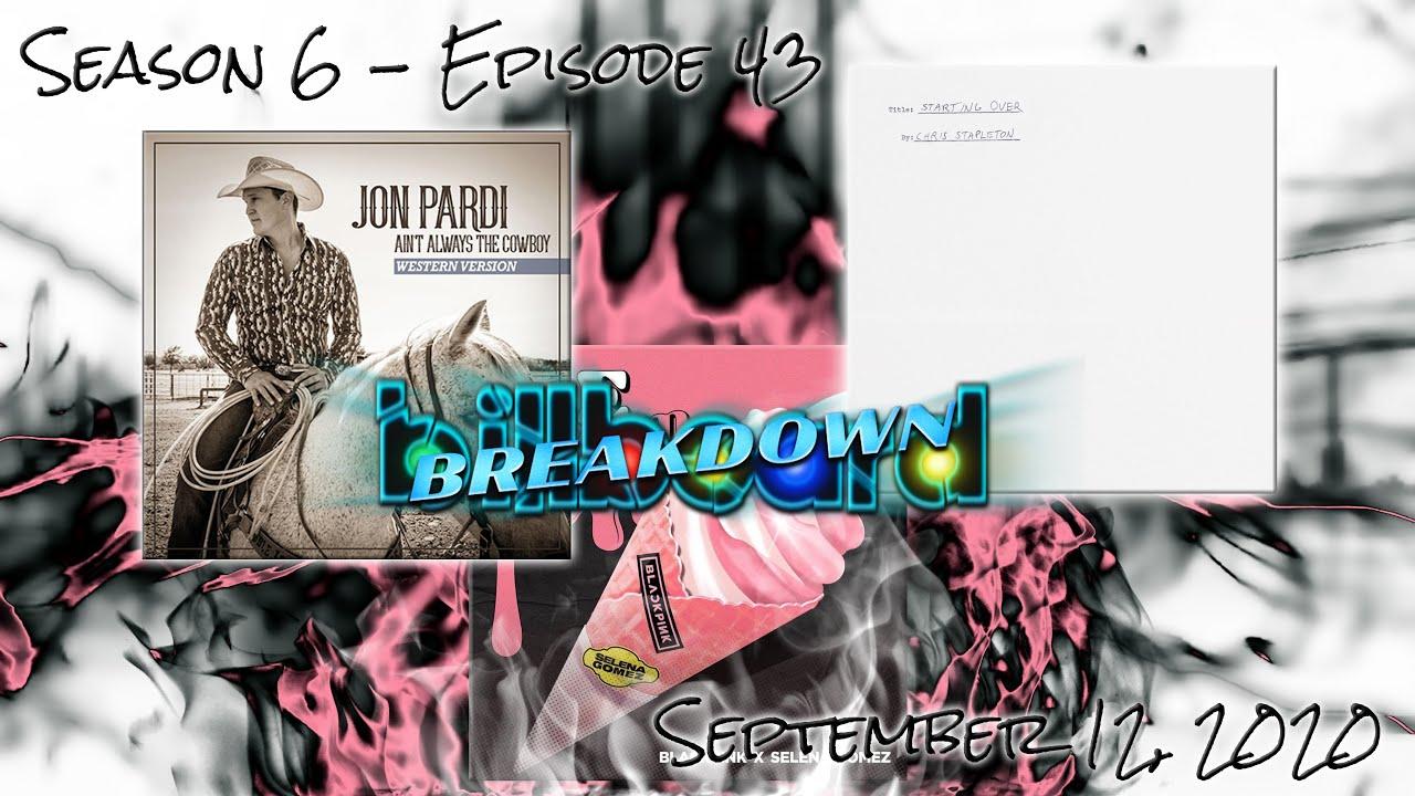 Billboard BREAKDOWN - Hot 100 - September 12, 2020 (Ice Cream, Over You, Starting Over, Blast Off)