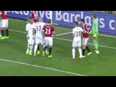 Man Utd vs Liverpool // 3-1 // Full Match Highlights // 2015 // Anthony Martial Debut Goal