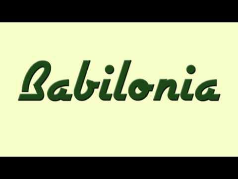 Babilonia   Song