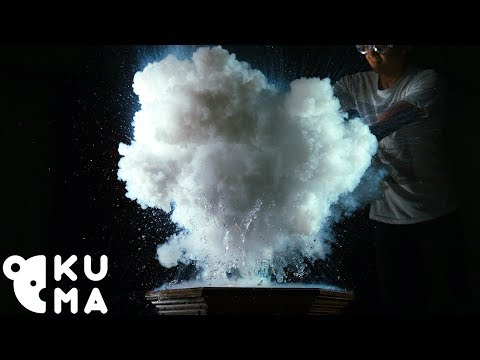 These Slow Motion Liquid Nitrogen Clouds are a Beautiful Distraction