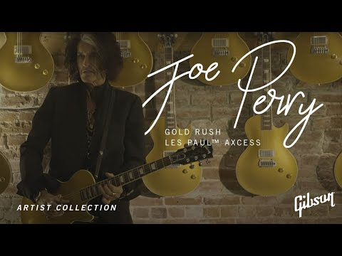 Introducing The Joe Perry Gold Rush Les Paul Axcess