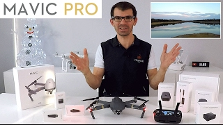 DJI MAVIC PRO 2017 - Déballage [ unboxing ] test Français VIDÉO 4K du mini MEILLEUR DRONE