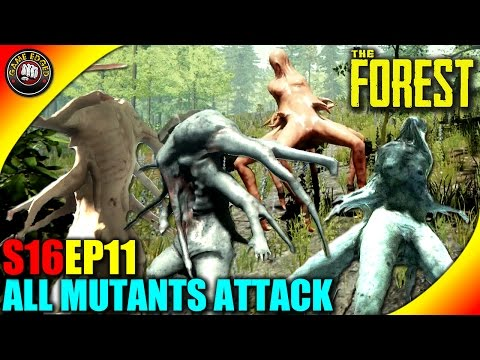 The Forest Gameplay - 4 Mutants Attack Both Colors! - S16EP11 (Alpha V0.34)