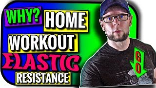 In Home Workout to Build Muscle | Secret Elastic Resistance Hack