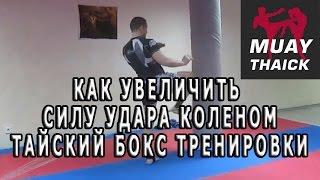 Как увеличить силу удара коленом - Тайский бокс тренировки(Бесплатные и проверенные 4 видео урока покажут как... Освоить идеальную технику Муай Тай уже через 2 недели,..., 2016-05-04T04:20:59.000Z)