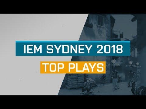 CS:GO - Top Plays: IEM Sydney 2018