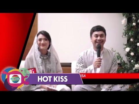 HOT KISS - Raditya Dika & Annisa Tasyakuran 7 Bulanan Sang Anak