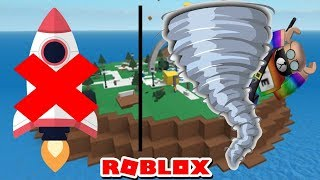 Roblox | FLY TO THE MOON FAIL AND TORNADOES FLYING BOOK | Natural Disaster Survival | BTT Gaming