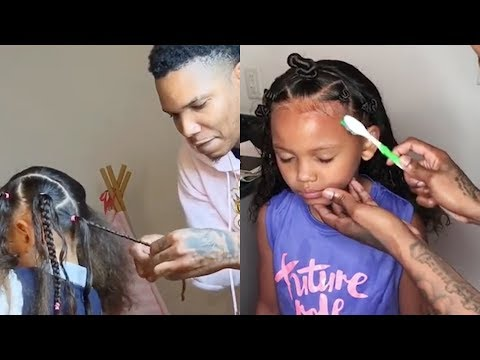 8 EASY HAIRSTYLES FOR GIRLS WHICH EVEN DAD CAN DO | HAIR COMPILATION
