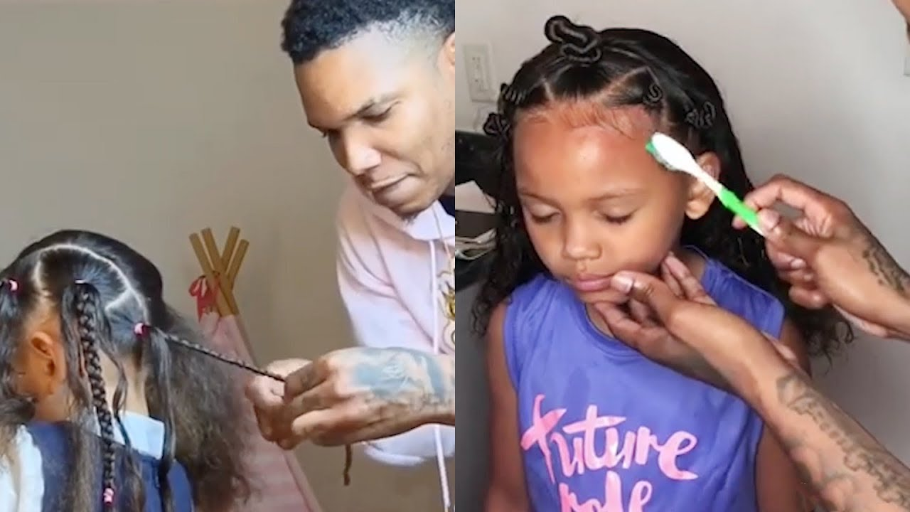 8 easy hairstyles for girls which even dad can do   hair compilation