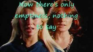 [Lyrics] ABBA-Knowing Me, Knowing You