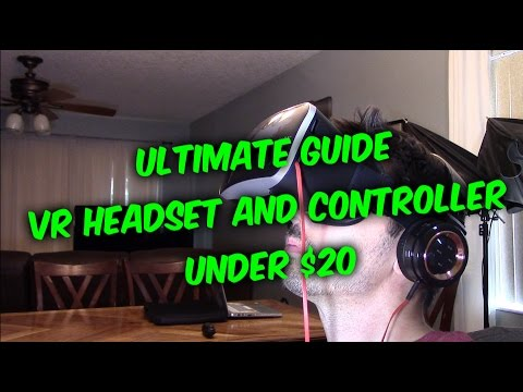 How To Setup Connect Use Vr 360 Headset And Controller To Your