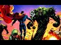 Superman vs. Swamp Thing : The Epic Confrontation that Should Turn into Animated Film