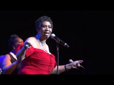 Aretha Franklin -  Radio City Music Hall, NY, 2014