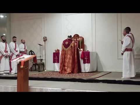 Assyrian Church Easter Mass ♱ Mar Zaia Khoshaba April 16, 2017 Toronto
