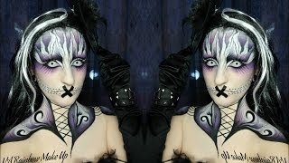 Gothika Makeup Tutorial (Make up and body painting) Thumbnail