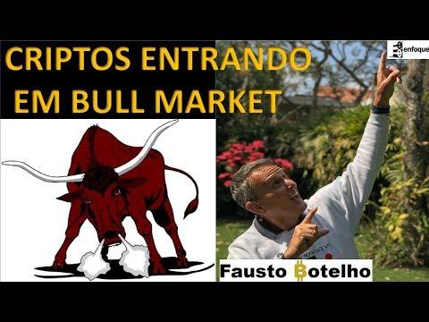 CRIPTOS ENTRANDO EM BULL MARKET - VEJA OS GRÁFICOS