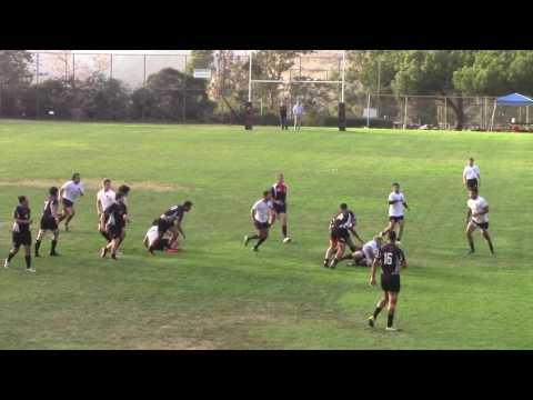 Rugby Santa Barbara Rugby Academy vs New Zealand Institute of Sports Full Match 10/13/16