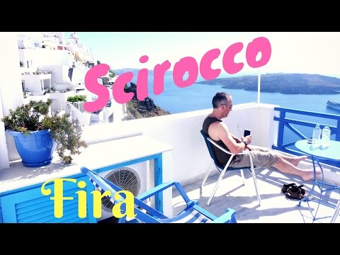What Do The Scirocco Apartments In Fira Santorini Look Like?