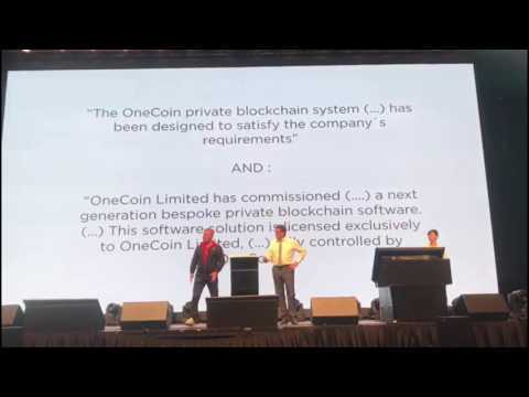OneCoin tries to bluff with White Paper, not describing the current system or blockchain.