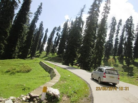 Gulmarg To Tangmarg Full Journey By Road - Kashmir Tourism