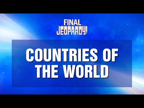 Final Jeopardy! 10/11/21 Plus Exclusive Overheard On Set Clip   JEOPARDY!