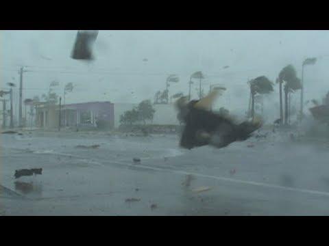 हंगकंगमा मान्छे उडायो हूरीले !! Dangerous storm in Honkong!!