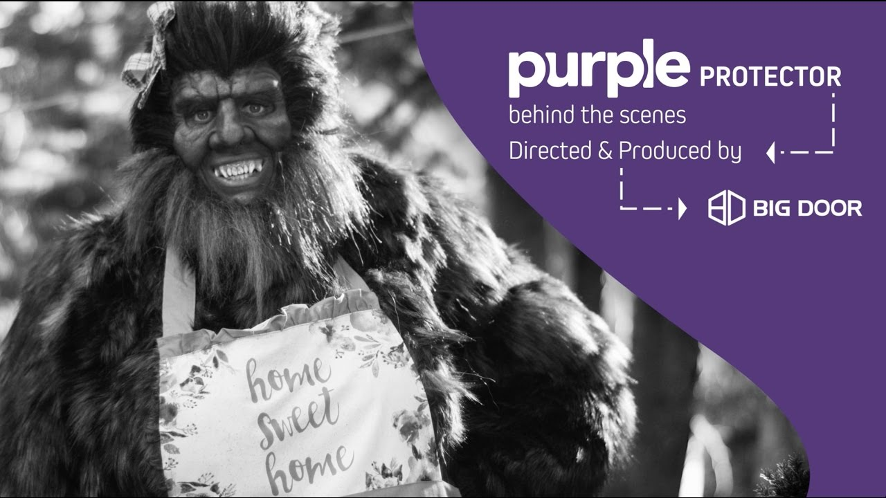 Behind The Scenes Purple Protector Youtube