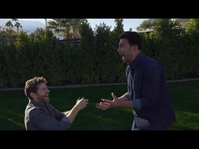 Watch Jonathan Bennett Get ENGAGED in Romantic PROPOSAL Video!