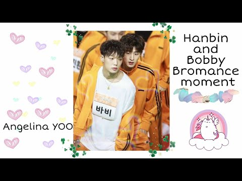 B.I and BOBBY Moment. (cute, funny and awkward moment)