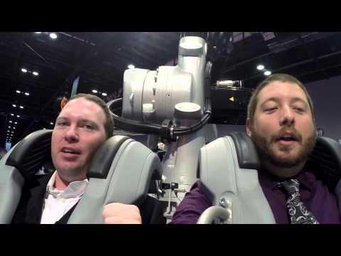 Kuka Shows off Crazy New Robocoaster Ride (IAAPA 2015)
