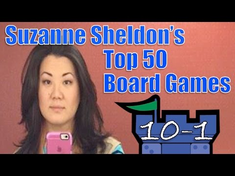 Suzanne's Top 50 Board Games: #10 - #1