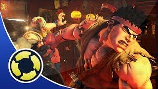 Street Fighter V (SF5)  E3 Gameplay