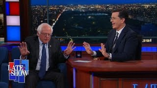 Bernie Sanders Is Not Dropping Out Tonight by : The Late Show with Stephen Colbert