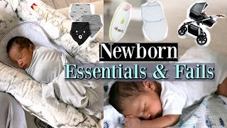 Newborn Essentials & Fails - MissLizHeart