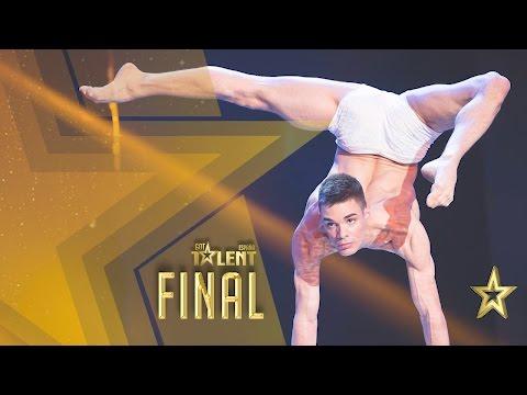 David Pereira, el bailarín de plastilina | Gran Final | Got Talent España 2016