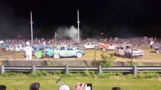 Sussex County Farm and Horse Show Demolition Derby August 7 2016