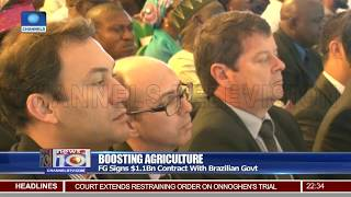 Baixar FG Signs $1.1bn Agric Contract With Brazilian Govt