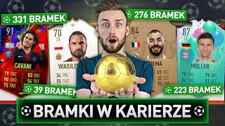 BRAMKI W KARIERZE DECYDUJĄ O DRAFCIE! | FIFA 19