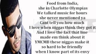 "Drake- ""Dreams Money Can Buy"" Lyrics On Screen YScRoll"