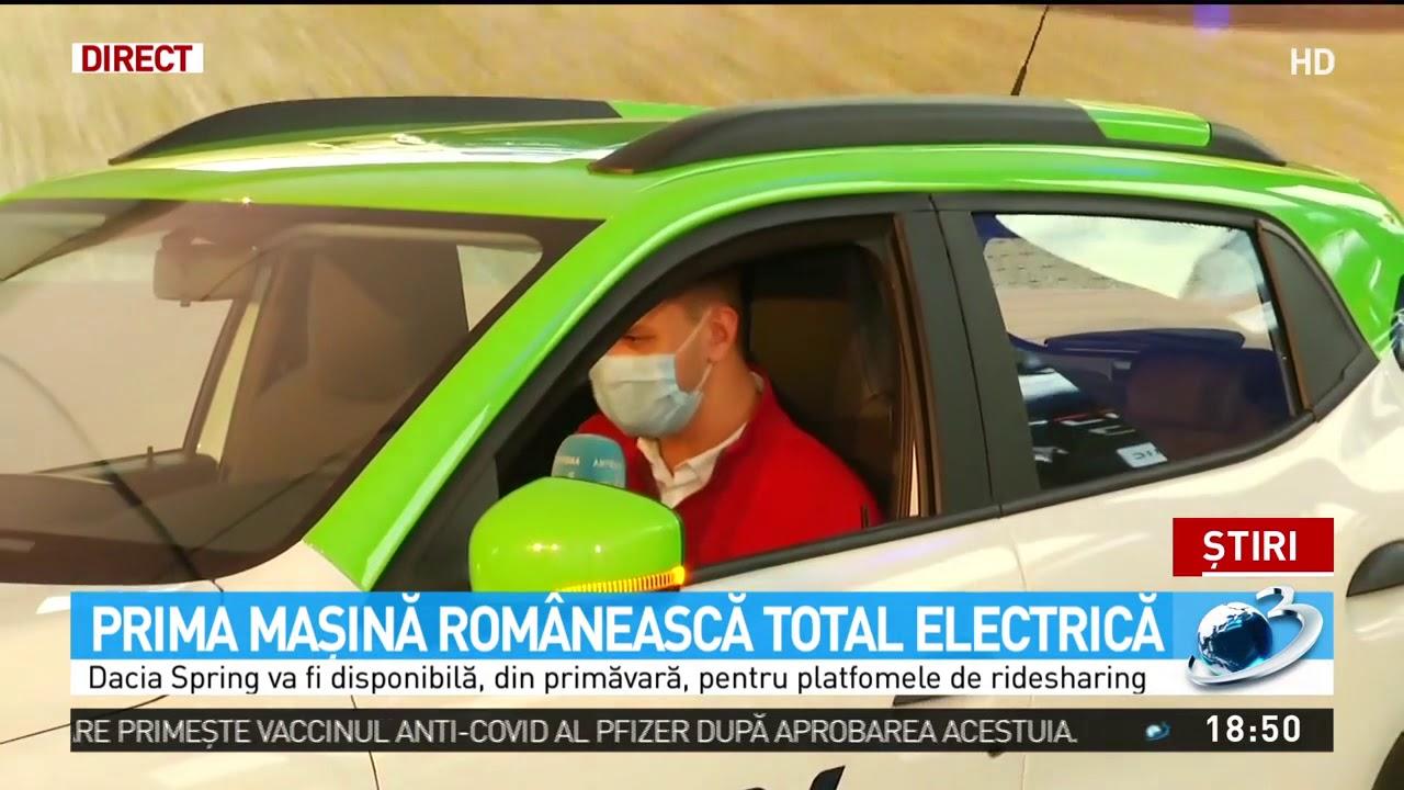 Cum arată Dacia Spring, prima maşină românească electrică 100%. Când o vom putea cumpăra